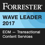 The Forrester Wave ECM Transactional Content Services, Q2 2017