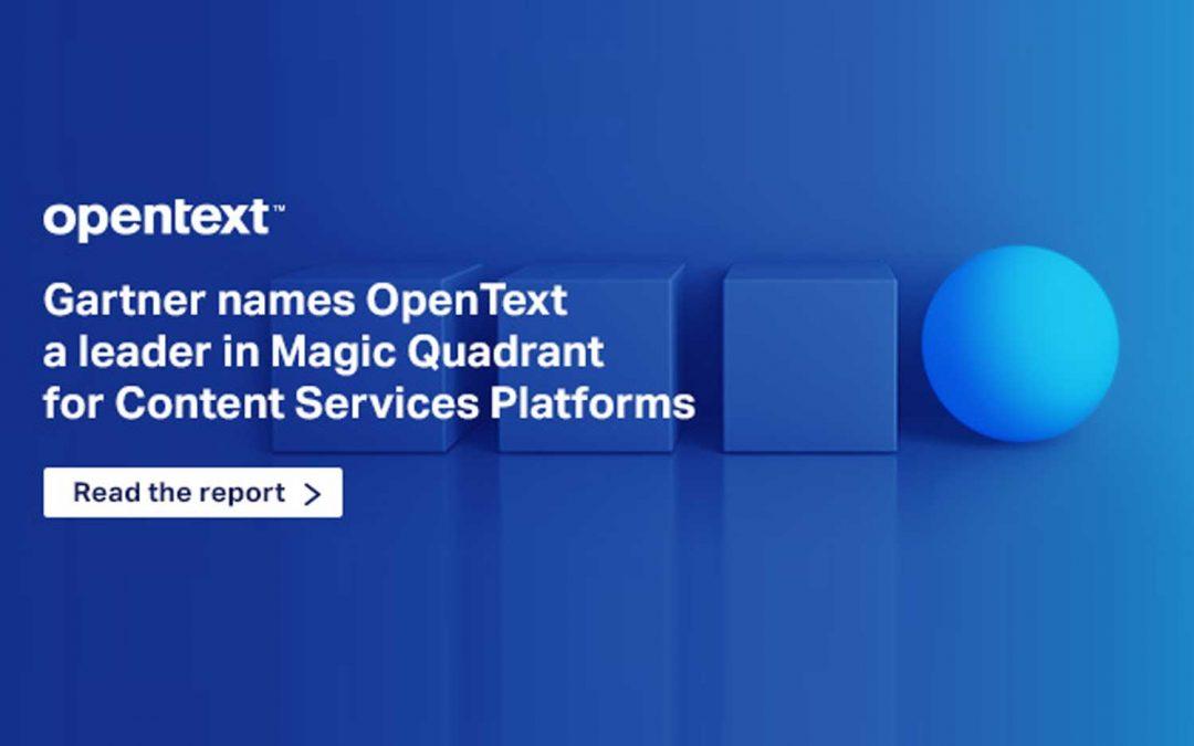 Magic Quadrant for Content Services Platforms Q3 2017