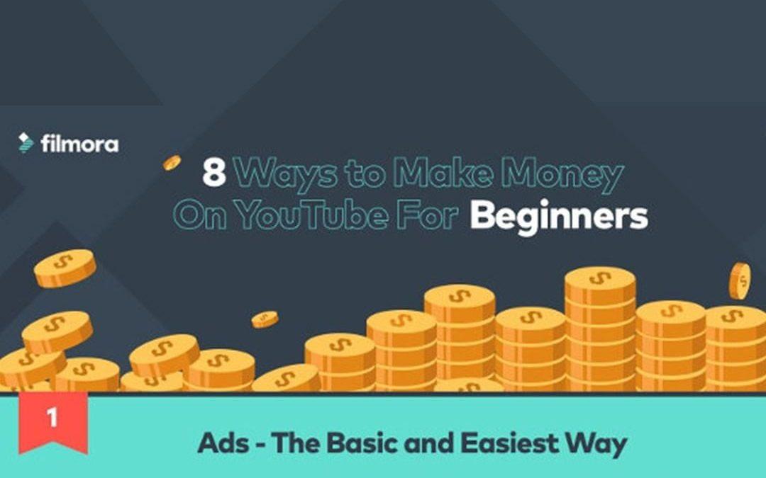 Eight Ways to Make Money on YouTube [Infographic]