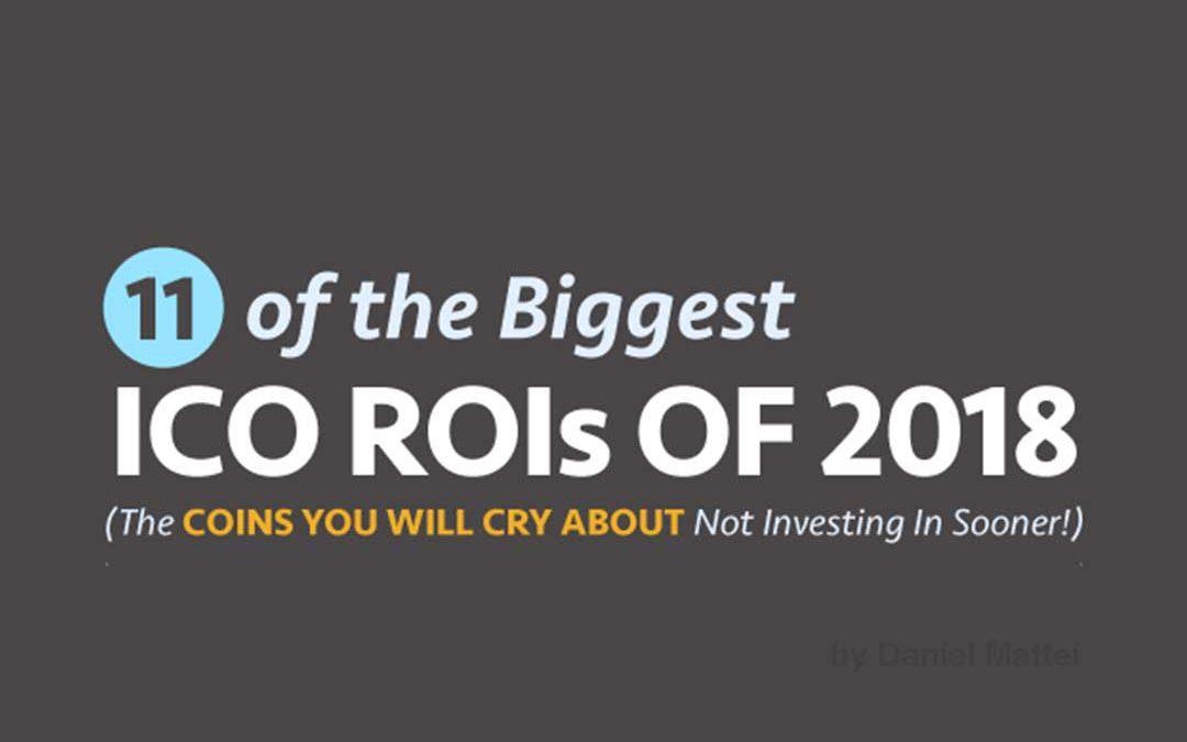 2018 Biggest ICO ROIs [Infographic]